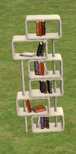 Ts2 trekbuks bookcase