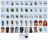Sims4 Romantic Garden Items