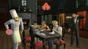 Ts3 supernatural fairyzombie dinnertable