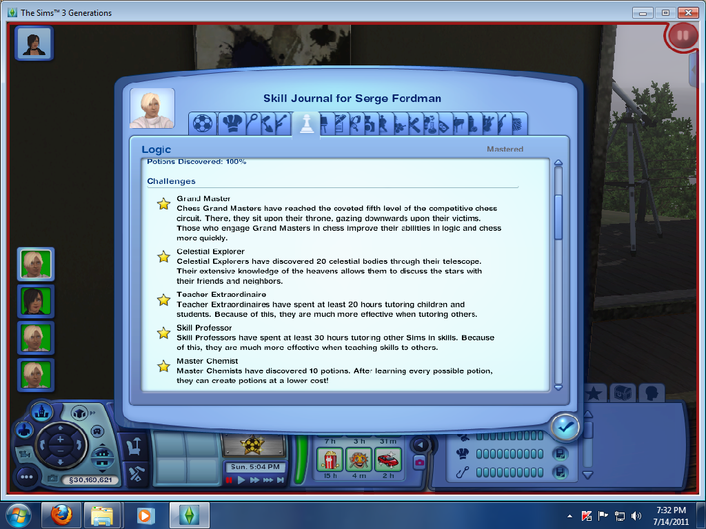 game guide completing the logic skill challenge the sims