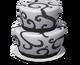 White & Black Cake