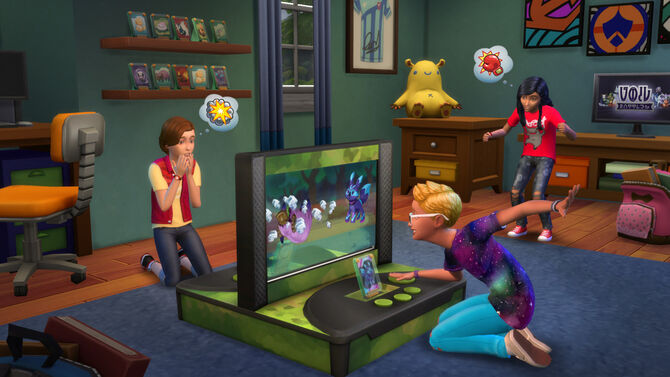 The Sims 4 Kids Room Stuff Battlestation
