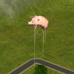 Летающая свинья