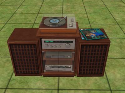 File:Hi Fi with Vintage Turntable.jpg