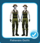 Fishersim Outfit
