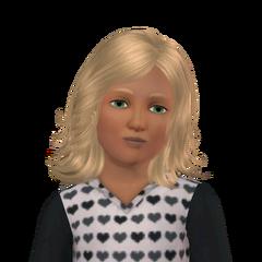 Sim's Tale child Dina headshot