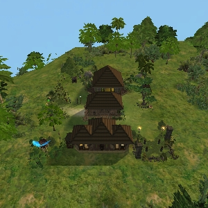 The Shaman's Hut