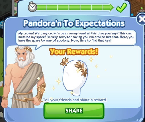 File:Sims Social - Greek Gods Week - Pandora'n to Expectations Quest - Completed.png
