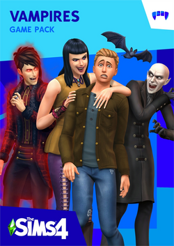 TS4 Vampires Boxart