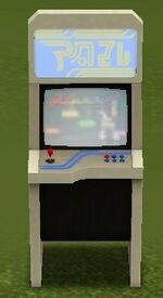 """Music Moves"" Arcade Console by Korben Computing"