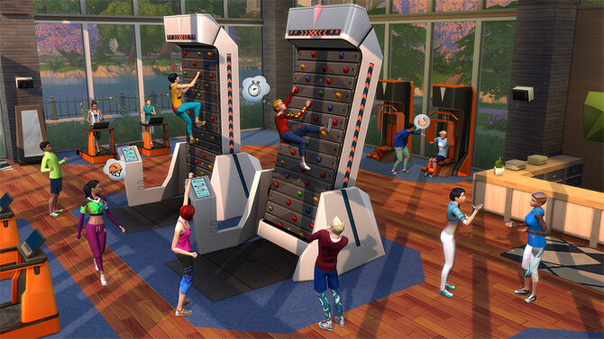 The Sims 4 - Fitness (1)