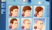 Hair list man