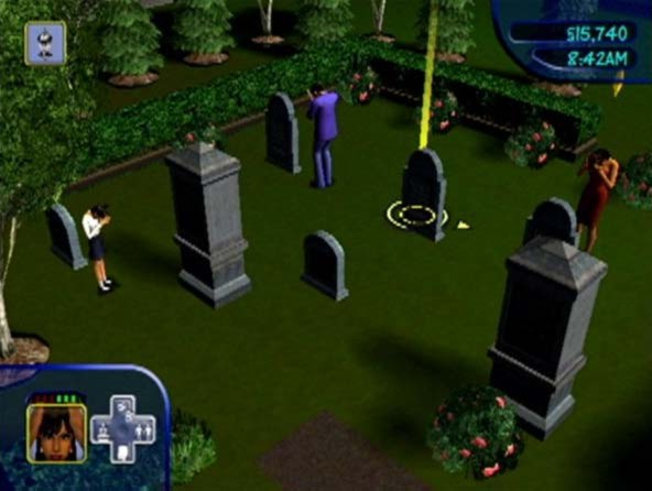 File:Cassandra, Mortimer and Bella (The Sims Console GameCube).jpg