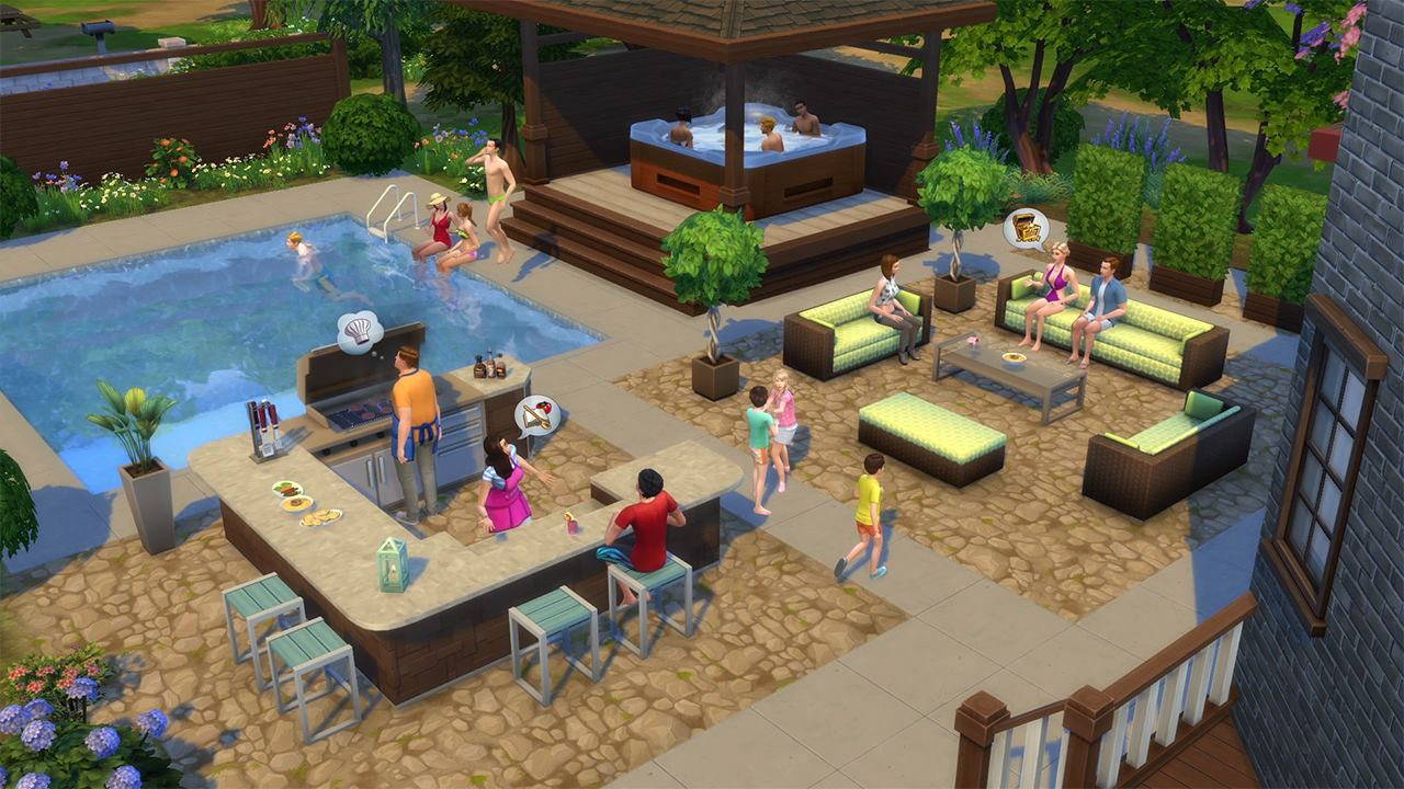 Charming The Sims 4: Perfect Patio Stuff | The Sims Wiki | FANDOM Powered By Wikia