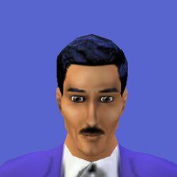 Mortimer Goth (The Sims console)