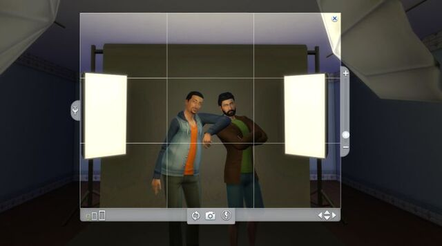 File:Photography with two sims.jpg