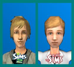 Aiden Thea Sims 1-Sims 2