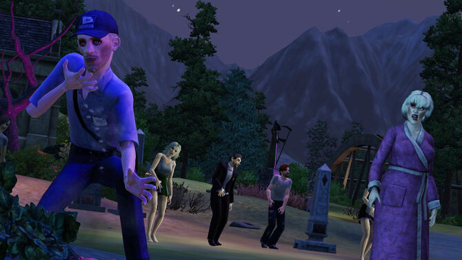 TS3Supernatural zombies
