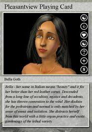 Bella Playing Card