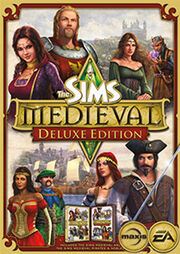The Sims Medieval Deluxe Pack Box Art