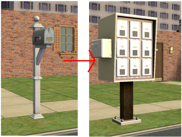 File:Ts2 custom apartment gg - apartment mailbox transformation.png