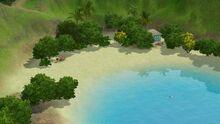 Crystal Waters Beach