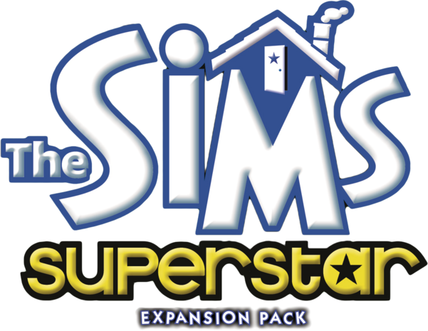 File:The Sims Superstar Logo.png
