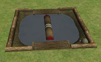 Ts2 log rolling pit