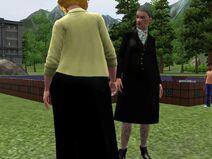 Agatha Annie Stand Off