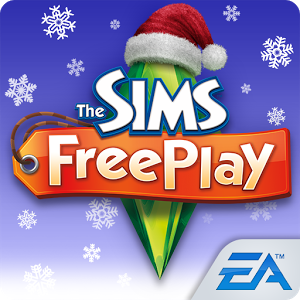 File:The Sims Freeplay christmas logo.png