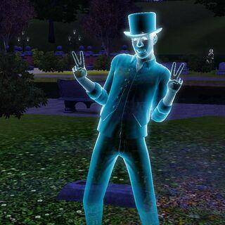 Грустный клоун в <i>The Sims 3</i>.