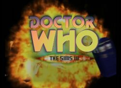 Doctor Who - The Sims 3 logo V2