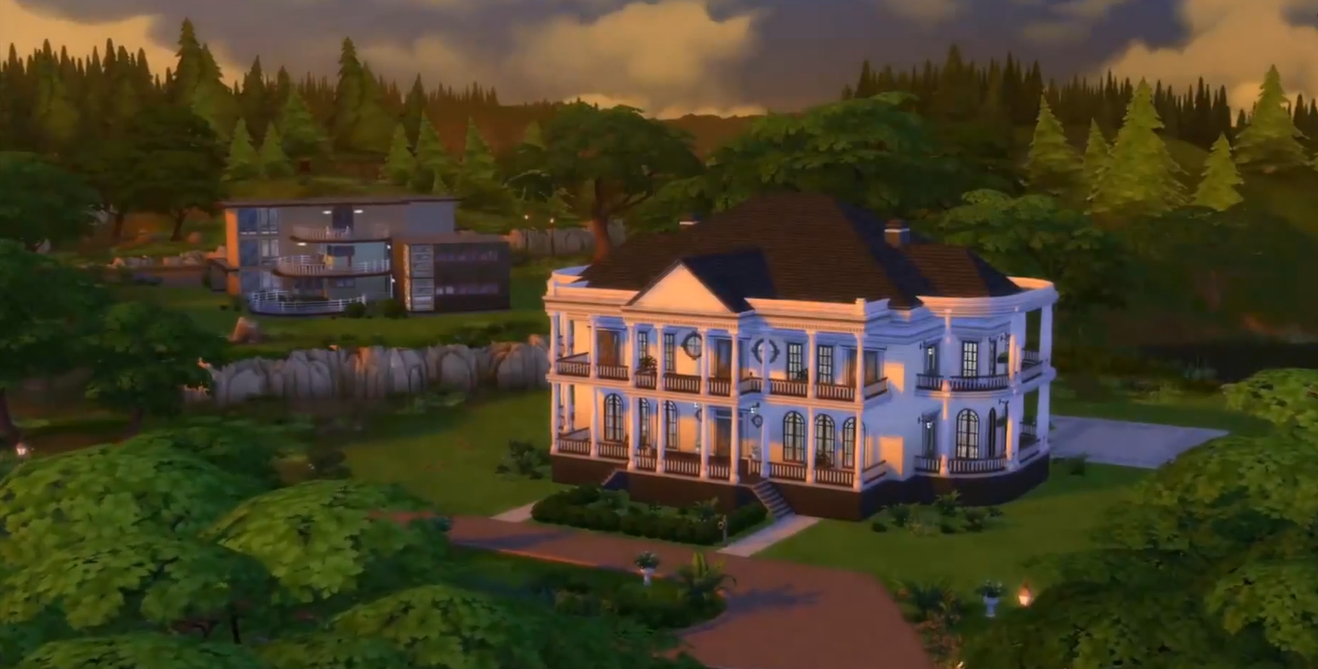 Image willow creek 3 png the sims wiki fandom for Willow creek mansion