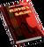 Book Skills Music Bass Red