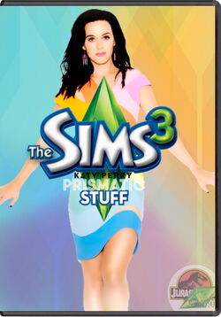 The Sims 3 Katy Perry's Prismatic Stuff Cover