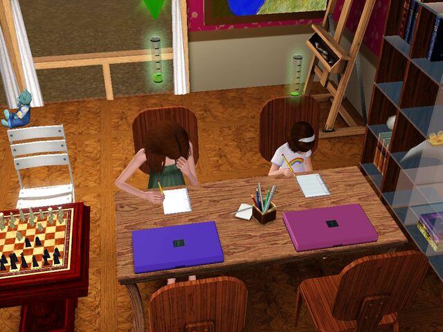 File:Jane and Sierra do homework.jpg
