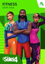 The Sims 4 Fitness Cover