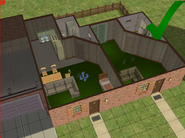 Ts2 custom apartment gg - correct walls and doors inside unit