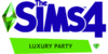 The Sims 4 Luxury Party Stuff Logo.png