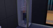 Geoffrey Landgraab showering