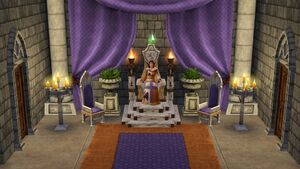 Rebecca on throne