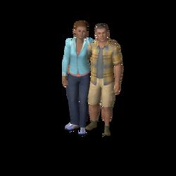 Keaton Family (The Sims 3)