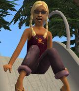 Tina Traveller In-game