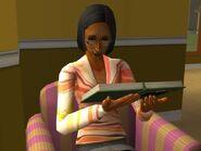 Delilah studying