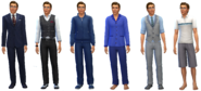Wilford Hertz Outfits (TS4)