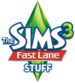 The Sims 3 Fast Lane Stuff Logo