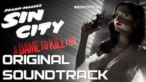 10 Ava In Bed - Sin City A Dame to Kill For - Original Soundtrack (Score) OST 2014