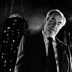 Stares at Johnny.