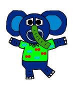 Elephant sing a ma jig