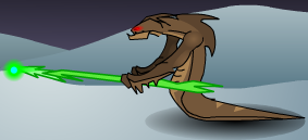 Mountain Naga Poison Bolt